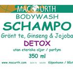 Bodywash & Schampo Grönt te Ginseng 350ml