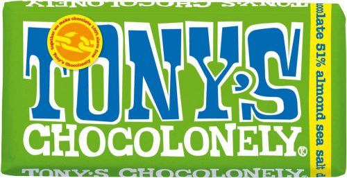 Choklad Mörk Mandel & Havssalt Tony's